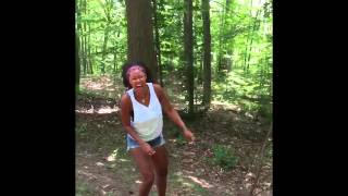 Kyle And Tarzan Swing Through The Trees