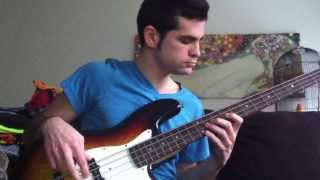 The XX - Crystalised (Bass Cover)
