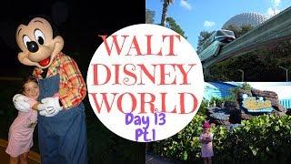WALT DISNEY WORLD VLOG - Character breakfast at Garden Grill & Seas with  Nemo & Friends