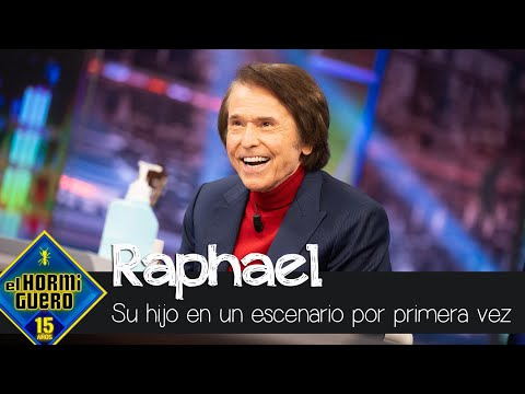 El hijo de Raphael reacciona tras verle por primera vez sobre el escenario – El Hormiguero