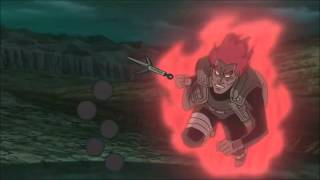 Guy vs Madara - Emerald Sword - AMV