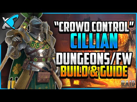"""""""CROWD CONTROL"""" Cillian Build, Guide & Masteries 