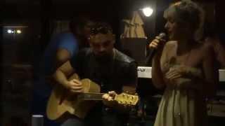 NPA - Chandelier (Sia cover) LIVE AT THEROS BEACH BAR : BIKINI FASHION PARTY