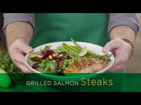 Get Grilling - Salmon Steaks