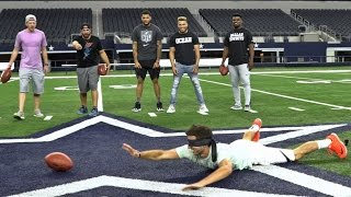 DP vs NFL Battle | Dude Perfect width=