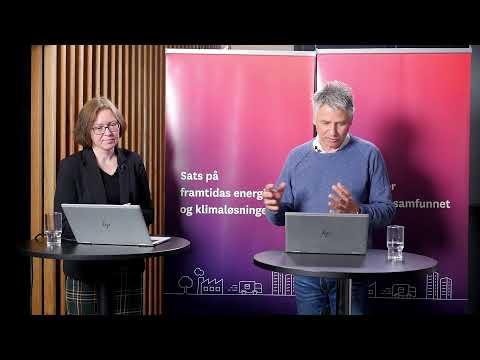 Webinar - Pilotering av ny energi- og klimateknologi