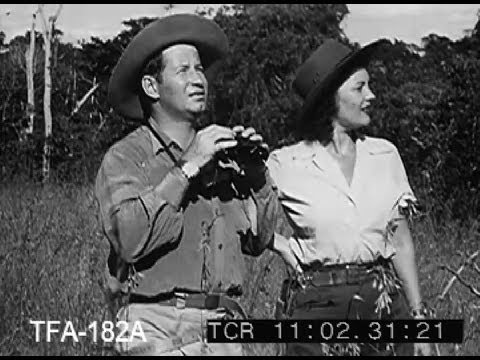 Diana In Africa, 1950s