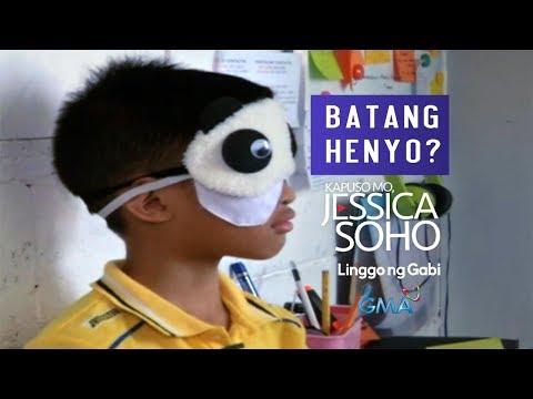 Kapuso Mo, Jessica Soho: Batang lalaki, kayang magbasa kahit nakapiring ang mga mata?