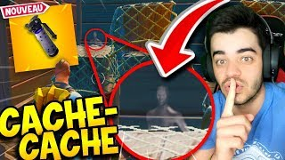 Fortnite - *NEW* MEILLEUR CACHE-CACHE AVEC LES *NEW* GRENADES INVISIBLES !!