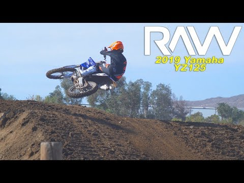 2019 Yamaha YZ125 2 Stroke RAW - Motocross Action Magazine