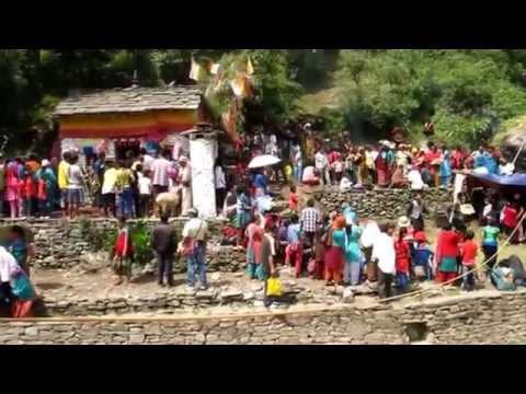 Nepal –  Annapurna Circuit – Waterfall Fest