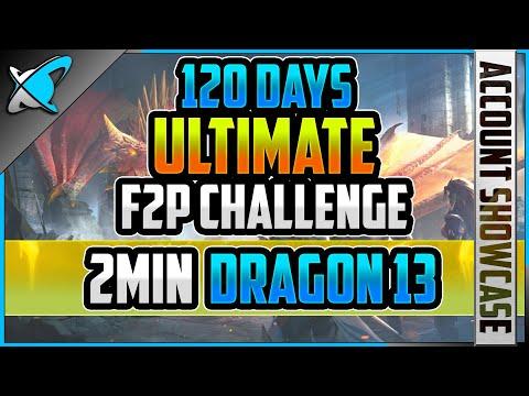*ULTIMATE* F2P CHALLENGE !! | 120 Day Update | 2FangsInYaz Showcase #4 | RAID: Shadow Legends