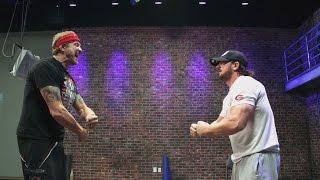 AJ Styles se entrena para su debut en WWE con DDP Yoga