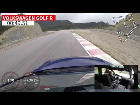 "Volkswagen Golf R / Vuelta rápida Circuito de Castellolí / Comparativa ""Hot Hatch"" | coches.net"