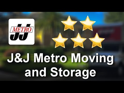 J&J Metro Moving and Storage Orlando Perfect 5 Star Review by Elizabeth E.