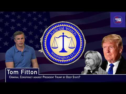 Tom Fitton: Facts Evidenced in #SpyGate IG Report Shows MASSIVE Criminal Conspiracy Targeting Trump!