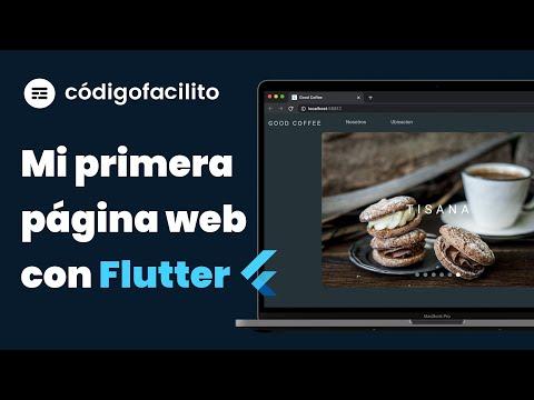 CURSO COMPLETO: Crea una página web desde cero con Flutter