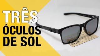 3 modelos de óculos de sol