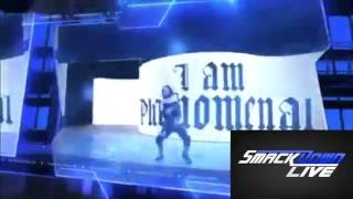 WWE NEW SmackDown LIVE! Intro 'Take A Chance' - CFO$