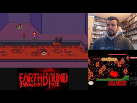 EARTHBOUND HALLOWEEN HACK (Super Nintendo) - Gameplay en Español SNES    EVENTO HALLOWEEN 2020