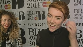 'Just be sexy': Singer Chloe Howl talks girl power at Brit nominations party