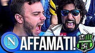 NAPOLI 3-1 SASSUOLO | AFFAMATI!!! LIVE REACTION GOL CURVA B HD