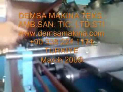 DEMSA_48_plate_wafer_oven_48Plakali_gofret_firini.wmv
