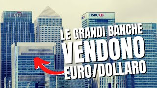 Gli istituzionali vendono EUR/USD: lo dice il COT Report