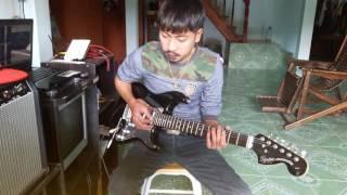 แค่โสด - SOLOIST feat. แร๊พอีสาน & ทริปเปิ้ลพี [ Cover guitar by TUM PHAKHAYA ]