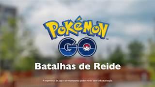 Pokémon GO - Batalhas de Reide
