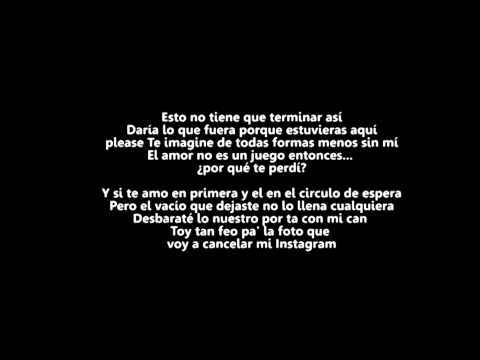 Te Extrano Ft El Batallon de Lr Ley Del Rap Letra y Video