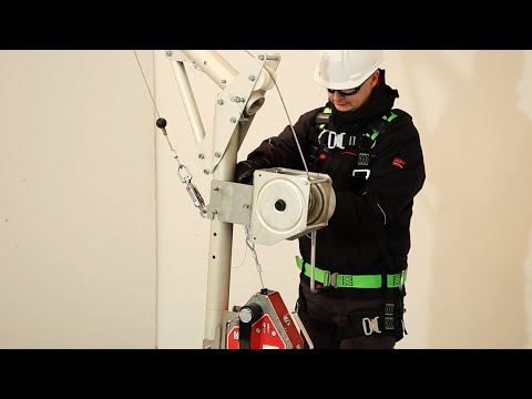 New Honeywell DuraHoist Arm System for Confined Space