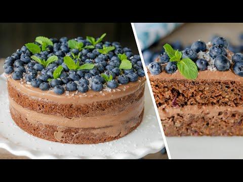 ТОРТ из КАБАЧКОВ шоколадный c орехами | Кабачковый КЕКС | маффины | простой рецепт десерт из цуккини