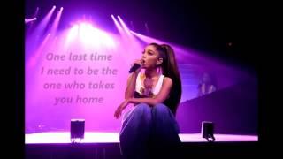 Ariana Grande - One Last Time lyrics