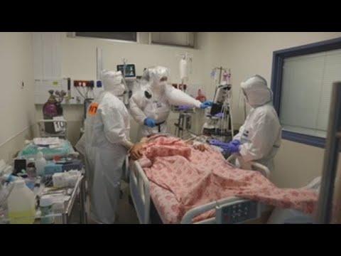 Israel supera 800 pacientes graves, una línea roja para su sistema sanitario