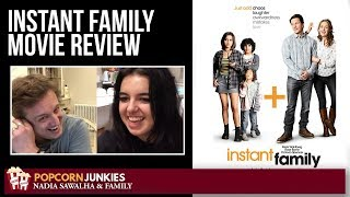 Instant Family (Mark Wahlberg, Rose Byrne) - Nadia Sawalha & The Popcorn Junkies Family Movie Review
