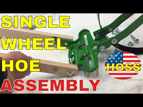 HOSS SINGLE WHEEL HOE ASSEMBLY (And DISCOUNT Offer - 2019)