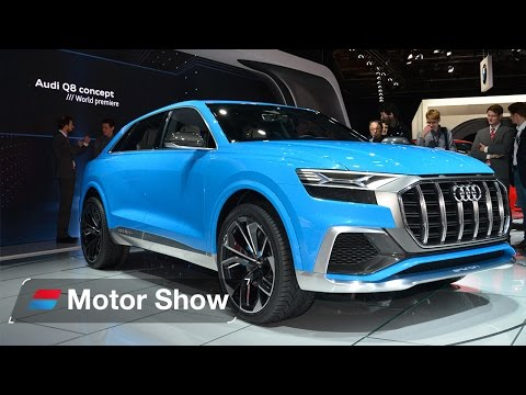 2018 Audi Q8 – First Look at the Detroit Motor Show