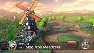 Mario Kart 8 Moo Moo Meadows Remix Bass Cover