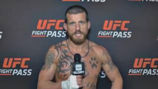 GLORY 37 POST-FIGHT: Warren Thompson