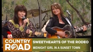 "Sweethearts of the Rodeo sing ""Midnight Girl in a Sunset Town"" on Country's Family Reunion"