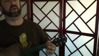 """Life During Wartime,"" Talking Heads (ukulele cover)"