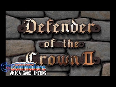 Amiga Game Intro: Defender Of The Crown II CDTV-CD32 (Sachs Enterprises/Commodore Int.,1993)
