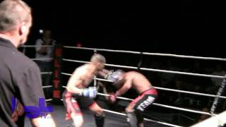 Jason Santana knocks out Hereda Grajeeda at Club Cinema April 30, 2011