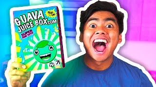 DIY How To Make GUAVA JUICE BOX! UNBOXING!