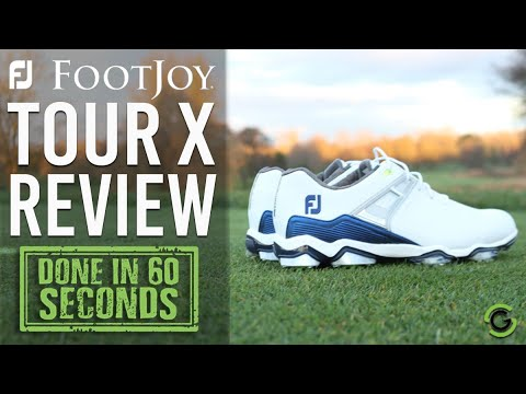 FOOTJOY TOUR X SHOE REVIEW - DONE IN 60 SECONDS