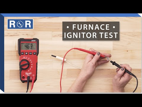 Carrier Bryant # 332505-751 - Continuity Test (Gas Furnace Ignitor)