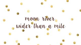 Moon River - Audrey Hepburn (Ukulele cover + Lyric video)