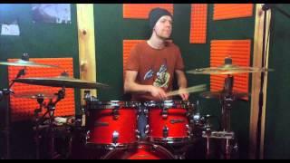 Mezo - Po robocie (drum cover) | Mateusz Brzostowski