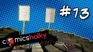 Comics Holky #13 Hello darkness, my old friend